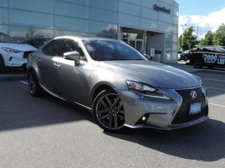 2014 Lexus IS 350 RWD 6A