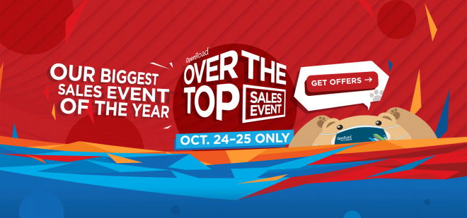 THE OVER THE TOP SALE IS BACK!
